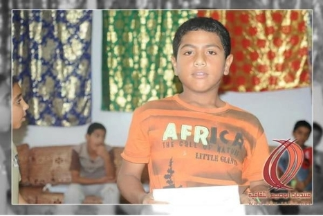 Ali Al Zayir 13yo frm village of Abo Sabi,  ARRESTED! | Human Rights and the Will to be free | Scoop.it