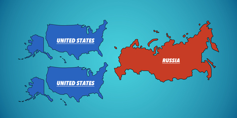 9 Animated Maps That Will Change The Way You See The World | For Curious minds | Scoop.it