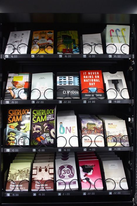 Singapore now has vending machines that sell books   LibraryHints2012   Scoop.it