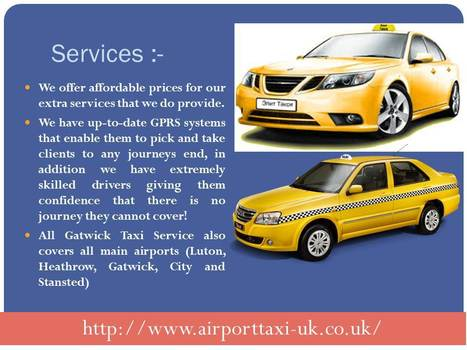 gatwick to brighton taxi   Airport taxi UK   Scoop.it
