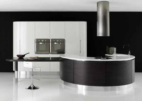 Various Model and Unique Modern Kitchen Designs | Minimalist-id ... | Interior Desisgn | Scoop.it
