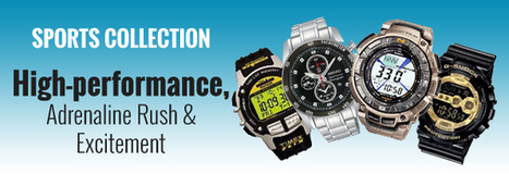 Sports Watches India: Best Sports Watches for Men & Women Online - Infibeam.com | Online Shopping Store | Scoop.it