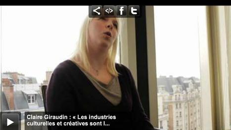 Claire Giraudin : « Les industries culturelles et créatives sont l'avenir de l'Europe » | MusIndustries | Scoop.it