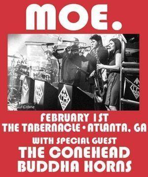 Conehead Buddha Horns to Join moe. in Atlanta, Chris Barron Swaps Wetlands ... - jambands.com | Jam scene | Scoop.it