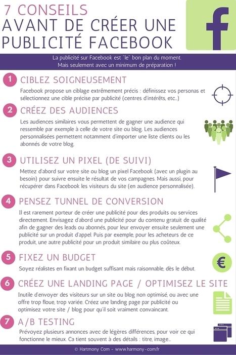 7 conseils avant de créer une publicité Facebook | MARKETING DES TPE | Scoop.it