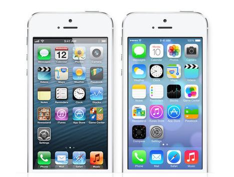 Comprendre le ''changement'' de l'iOS 7 sur iPhone en 13 photos... - Next51'Blog (Blog) | Mobilité | Scoop.it