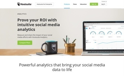 18 Free Tools for Analysing Social Media Activity | Digital Brand Marketing | Scoop.it