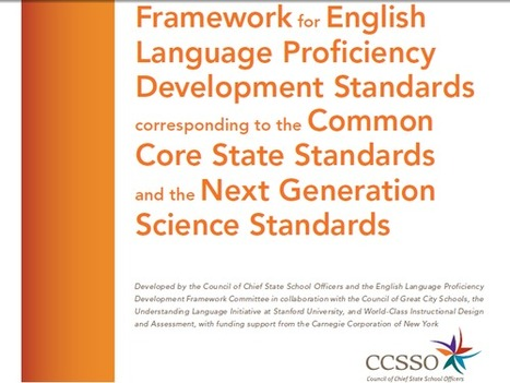 Guide: Tying Common Core and English-Proficiency ... | in the cloud | Oakland County ELA Common Core | Scoop.it