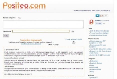 Trois outils pour détecter le plagiat en ligne | Time to Learn | Scoop.it