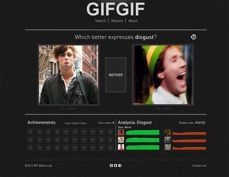 Le GIF, outil de mesure des émotions humaines | La révolution numérique - Digital Revolution | Scoop.it