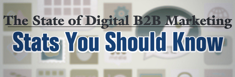 The State of Digital B2B Marketing: Stats You Should Know | IT SALES INC | Innovator's and Influencer's Post | Scoop.it