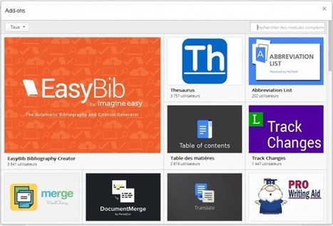 Google Docs : Une boutique pour installer des add-on | FrAndroid | netnavig | Scoop.it