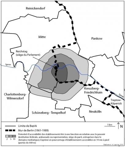 L'empreinte spatiale de l'ancienne frontière interallemande dans le Berlin d'aujourd'hui | ECS Géopolitique de l'Europe | Scoop.it