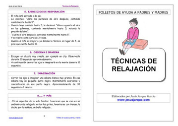 TÉCNICAS RELAJACIÓN   La Canopea- Dificultades de Aprendizaje.   Recursos orientación   Scoop.it