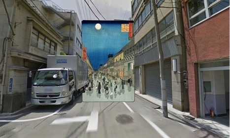 Classic paintings of world cities meet Google Street View... | Art for art's sake... | Scoop.it
