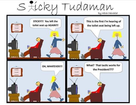 Sticky Tudaman on Presidential selective memory | Political Humor | Scoop.it
