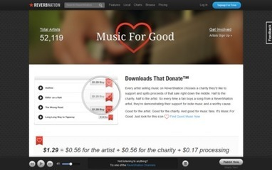 ReverbNation Launches 'Music For Good' Downloads For Charities Program - hypebot | independent musician resources | Scoop.it