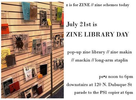 Zine Library Day- The University of Iowa Libraries | Zines | Scoop.it