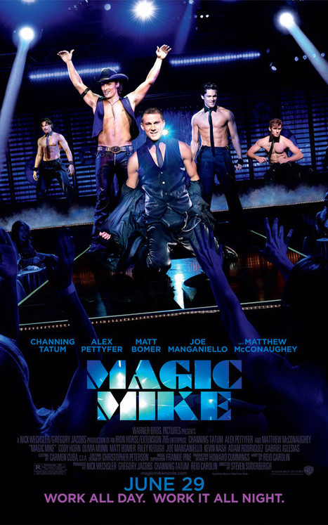 Channing Tatum's 'Magic Mike' Already Headed For Broadway? | Morning Show prep | Scoop.it