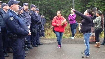 First Nation Fracking Protest Escalates in New Brunswick | First Nations | Scoop.it