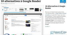 10 alternatives à Google Reader | Geeks | Scoop.it