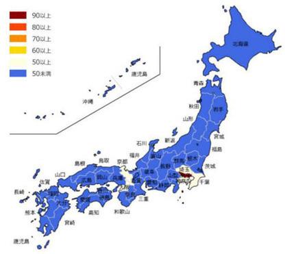 """日本はまるで「2つの国」? 交通事情・関心事で分かる東京の""""特異性""""「Yahoo!検索データ」で浮き彫りに"""