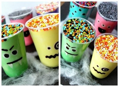 Monster Pudding Cup - KidZui Blog | Work, Home & Family Life | Scoop.it