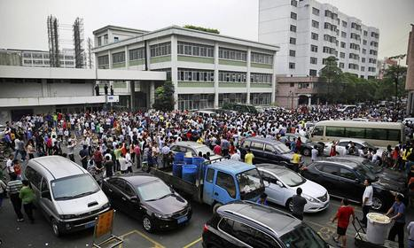 Strike spreads at Chinese supplier to Adidas and Nike | Asian Labour Update | Scoop.it