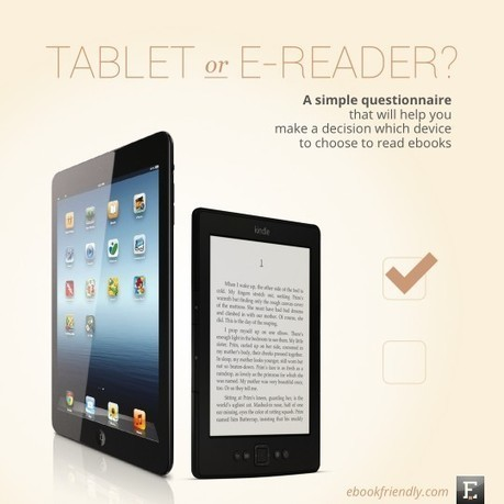 These 12 questions will help you choose between tablet and e-reader - Ebook Friendly   Library thing   Scoop.it