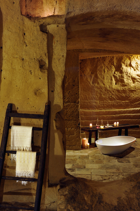 Stunning Hotel is Tucked Away in Once-Abandoned Caves | Italia Mia | Scoop.it
