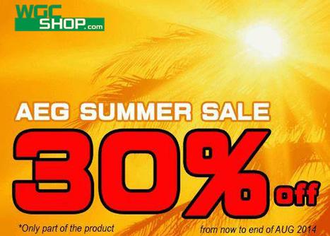 WGC Shop AEG Summer Sale Announced | Airsoft Showoffs | Scoop.it
