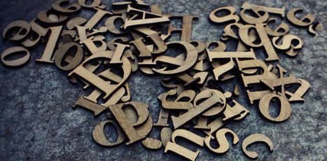 Petit guide des polices et de la typographie | Time to Learn | Scoop.it
