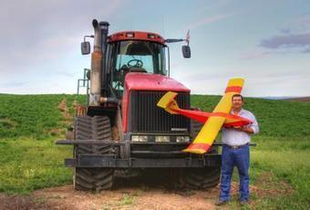 Agriculture a promising market for drones - The Spokesman-Review | Creative Partnerships | Scoop.it