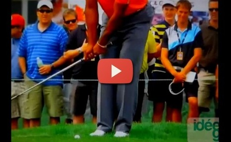Apprenez les bases du chipping en regardant Tiger Woods | Nouvelles du golf | Scoop.it