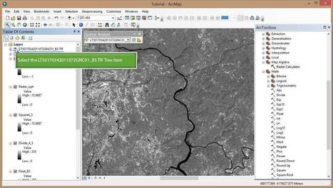 Remote Sensing in ArcGIS Tutorial 16b. Spectral... | Remote Sensing News | Scoop.it