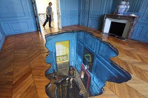 3D Floor Art, In Your House | Art World. | Scoop.it