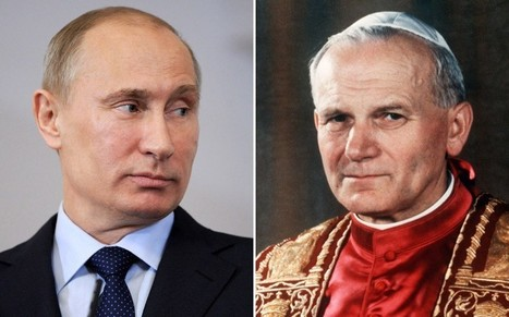 Gerard Depardieu compares Vladimir Putin to Pope John Paul II  - Telegraph | The Indigenous Uprising of the British Isles | Scoop.it