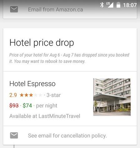 Hotel Price Drop Alerts In Google Now   ALBERTO CORRERA - QUADRI E DIRIGENTI TURISMO IN ITALIA   Scoop.it