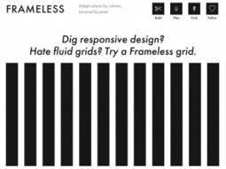 Two Great Grid Systems for Responsive Design | the craftsmanship ... | Responsive Web Design | Scoop.it