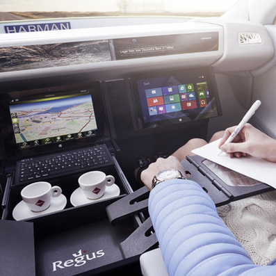 Driverless vehicle becomes office in XchangE concept car by Rinspeed | mdnet stuff ov interest | Scoop.it