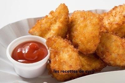 Nuggets de poulet | Recettes de cuisine | Scoop.it