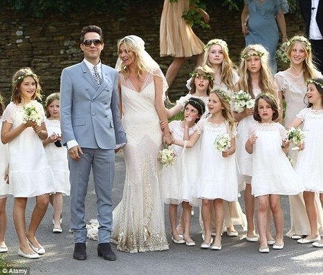 The women in white who are happy to upstage the bride | Kickin' Kickers | Scoop.it