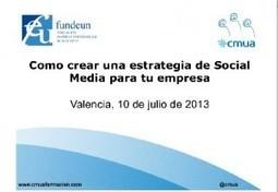 Como crear una estrategia de Social Media para tu empresa. (SlideShare) | Pymes-Empleo-Fomacion Siglo XXI | Scoop.it