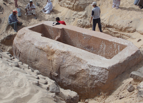 Giant Sarcophagus leads archaeologists to Tomb of a Previously Unknown Pharaoh | AncientHistory@CHHS 2012-13 | Scoop.it