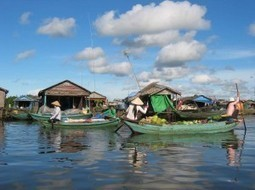 Stilted and Floating Villages of Cambodia: Tonle Sap Lake Life | Year 5 Geography: Human activity and Tonle Sap Lake | Scoop.it