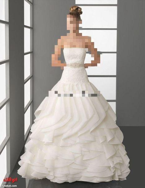 موديلات فساتين زفاف للمحجبات 2013 خطيرة انيقة كشخة 2013 | لفات طرح | Scoop.it