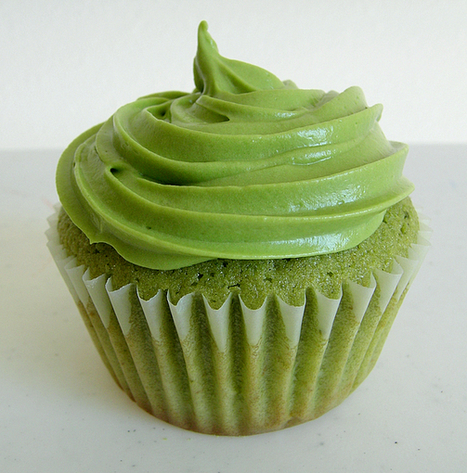 Green Tea Cupcakes - sweetest kitchen | Mike Kruis | Scoop.it