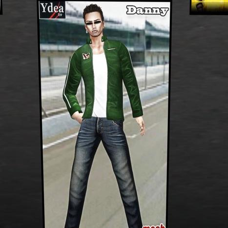 Danny Outfit Group Gift by Ydea | Teleport Hub - Second Life Freebies | Second Life Freebies | Scoop.it