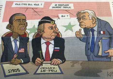 Géopolitique: Poutine, Obama et la diplomatie française | Dessins de Presse | Scoop.it