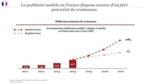 407 Millions d'euros d'investissement en mobile en 2014 - Marketing mobile | FromWeb2Mobile | Scoop.it